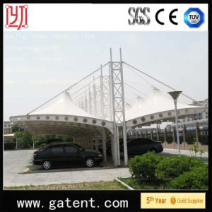 PVDF Double Side Carport Tent for Car Parking Every Sheet for 2 Cars pictures & photos