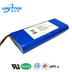 Li-ion Battery Pack 18650 14.8V 2.8ah Lithium Battery for Detecting Instrument pictures & photos