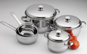 Stainless Composite Bottom Pot Sets pictures & photos