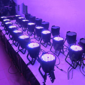 54PCS 3W RGB Tri Color LED PAR64 pictures & photos