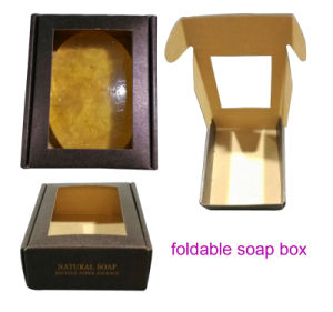 OEM Cmyk Folding Soap Packing Box/8 Pieces Soap Paper Box pictures & photos