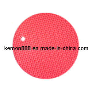 Silicon Round Mat-Honeycomb (61600)