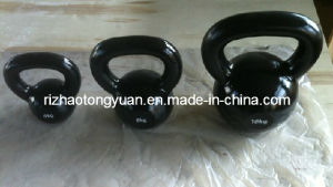 Spray Painted Cast Iron Kettlebell pictures & photos