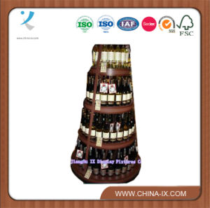 Wooden Wine Cabinet for Supermarket/Retail Store (WC312) pictures & photos