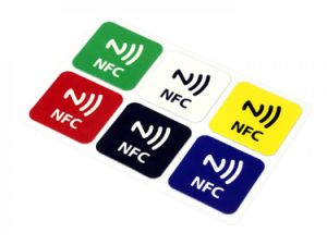 Passive NFC Tag 13 56MHz RFID Label/Ntag213 (215) NFC Label