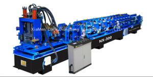 C and Z Full Automatic Adjustment Interchange Purlin Machine, C Z Hydraulic Purlin Roll Forming Machine with Post Cutting