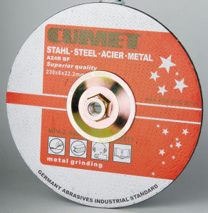 Depressed Center Grinding Wheels with Hub for America Market pictures & photos