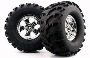 1/8 Monster Truck Tire ( Cutter / Big Fangs) (WC1014)