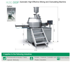 Automatic High Effective Mixing and Granulating Machine (HLSG-300P) pictures & photos