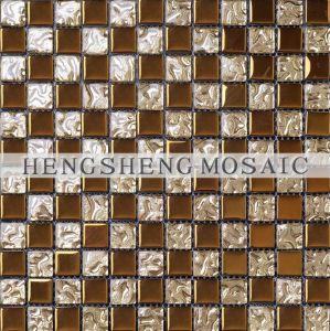 China Night Club Crystal Glass Mosaic Decorative Wall Tile Dt54 China Night Club Mosaic Decorative Mosaic