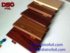 3D Sublimation Wood Effect Transfer Film for Aluminum Sheets/ Metal Parts/Frames pictures & photos