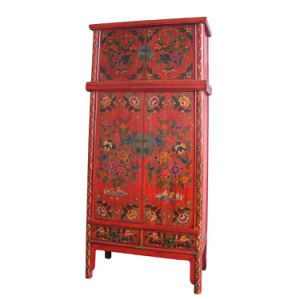 Painting Cabinet With Top Chest (BG-073)