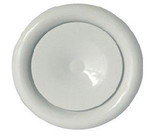 White Iron Round Air Vent Q235