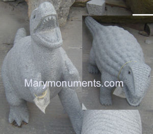 Garden Animal Carving, Granite Tombstone-Animal Carving08