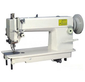 Heavy Duty Top and Bottom Feed Lockstitch Sewing Machine (OD0302) pictures & photos
