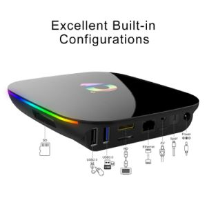 2019 Q-Box Plus Quad Core 4GB+32GB Android 9.0 TV Box HD Smart Media Player IPTV