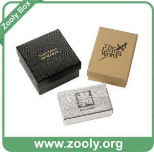 Eco-Friendly Paper Jewelry Box with Logo / Jewellery Box with Lid pictures & photos