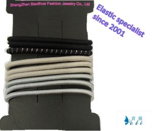 High Quality Metal Free Elastic Hair Bands (BLH20148012) pictures & photos