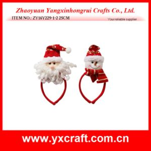 Christmas Decoration (ZY16Y229-1-2 25CM) Happy Santa Christmas Hanging Items pictures & photos