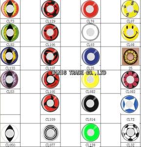 halloween crazy contact lens cosplay 145mm diameter