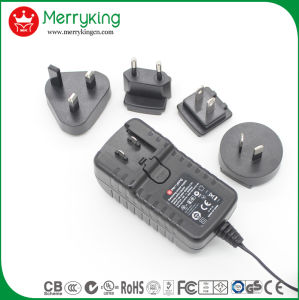 18V 2A UL Interchangeable DC Adapter pictures & photos