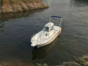 24FT Fiber Glass Boat High Speed Fishing Boat pictures & photos