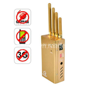 Portable GPS Jammer with GSM 3G  (TG-121D) pictures & photos