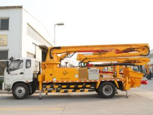 Diesel Truck-Mounted Concrete Pump 25m 28m 32m 37m 48m pictures & photos