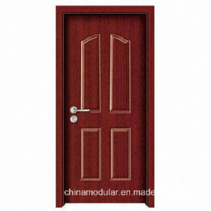 American Style Wood Grain Steel Clad Door with Knock Down Frame (CHAM-A103) pictures & photos