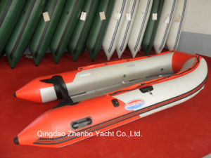 PVC or Hypalon Inflatable Boat with Aluminum Floor