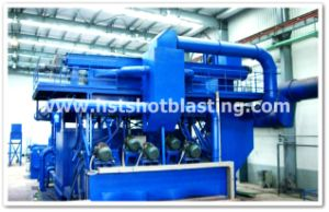 Steel Plate Pretreatent Line for Ship Building Industry