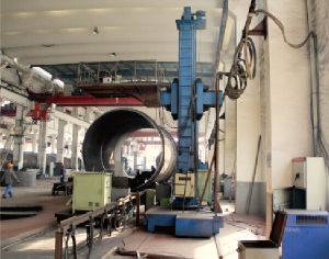 Manual Pipe Seam Lifting Column and Boom Welding Machine