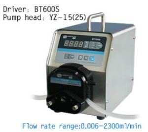 Bt600s Basic Speed Variable Peristaltic Dosing Pump 0.006-2900ml/Min pictures & photos