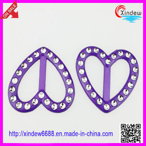 Belt Buckle with Diamond, Fashion Dress Buckle (XDJZ-136) pictures & photos