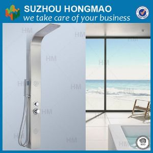 Stainless Steel Shower Panel, LED Shower Panel with Jets
