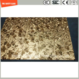 6mm-20mm Safety Laminated Glass with Fabric/Leather Interlayer with SGCC/Ce&CCC&ISO Certificate for Home and Hotel Wall and furniture pictures & photos