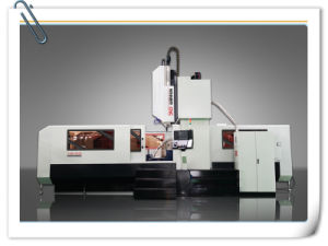 Floor Type Gantry CNC Milling Machine for Machining Gear Case (CKM2516) pictures & photos