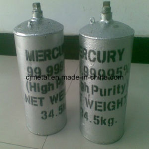 Pure Silver Liquid Mercury 99.999%