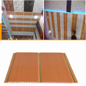 7*200mm Wooden PVC Ceiling Board Waterproof Material pictures & photos
