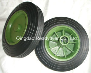 Rubber Wheel for Dustbin Container pictures & photos