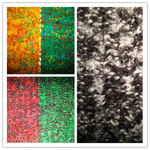 Wool Blenched Heather Colour Fancy Terry Jersey Fabric pictures & photos