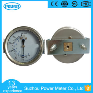 2.5′′ 63mm Stainless Steel Bellows Pressure Gauge with U Clamp pictures & photos