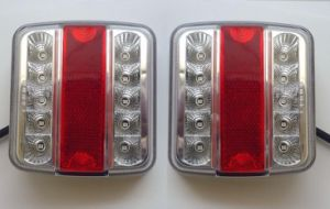 LED Trailer Lorry Van Squre Tail Lamp