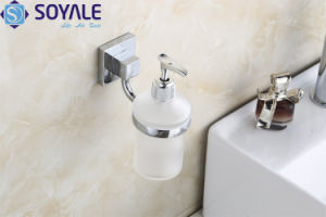 Zinc Alloy Soap Dispenser Holder with Chrome Plated (SY-6179)