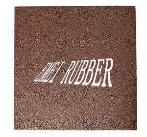 Emei High Density and Durable Rubber Tile for Shooting (EN1177) pictures & photos