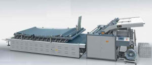 Automatic Flute Laminating Machine pictures & photos