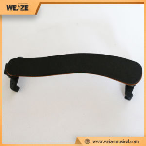 Adjustable Imitated Wooden Violin Shoulder Rest with 5mm Sponge Base for 4/4 3/4 pictures & photos