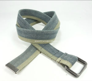 Plain Fashion Canvas Belt (EUBL0106-40)
