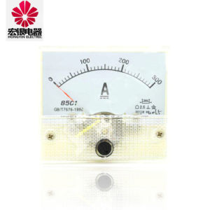 85c1-a Series High Quality Analog Panel Ammeter