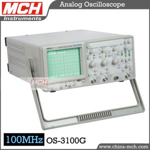 100MHz Frequency Dual Channel Four Traces Digital Readout Oscilloscope (OS-3100G)